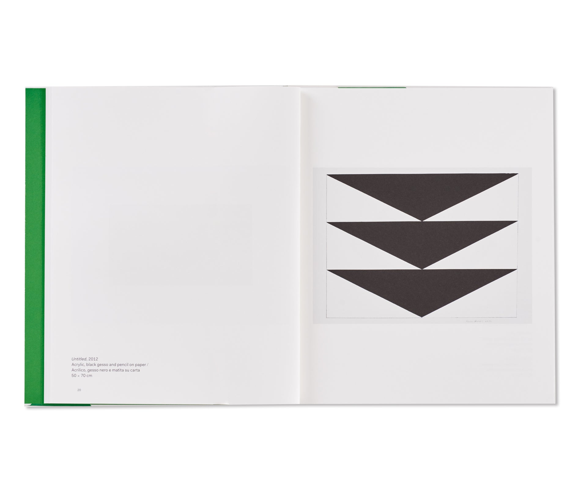 WORKS ON PAPER / OPERE SU CARTA 2010-2012 by Carmen Herrera