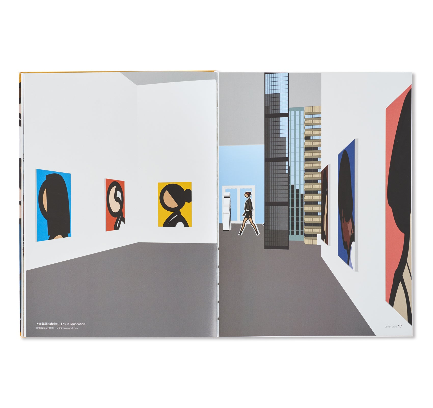 JULIAN OPIE ARTWORKS CATALOG by Julian Opie