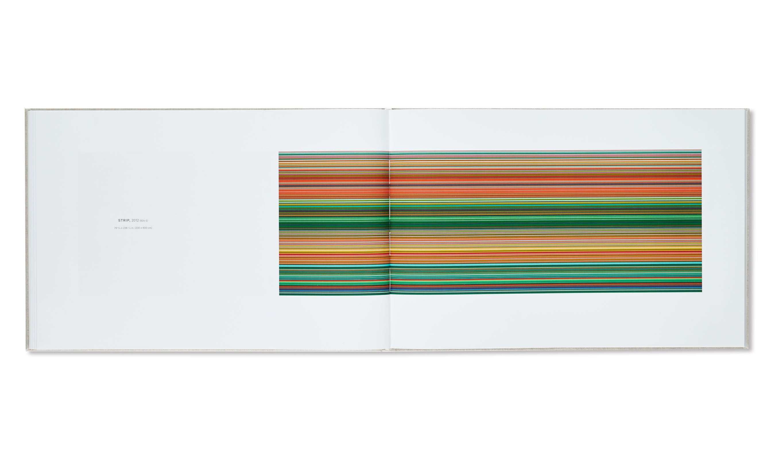 STRIP PAINTINGS by Gerhard Richter