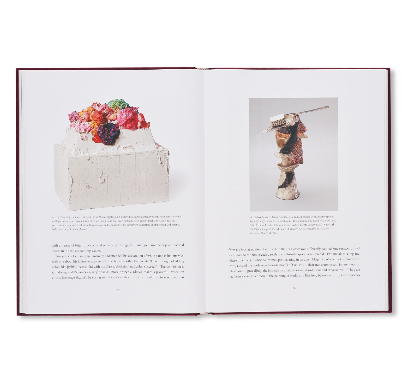 CY TWOMBLY'S THINGS by Kate Nesin