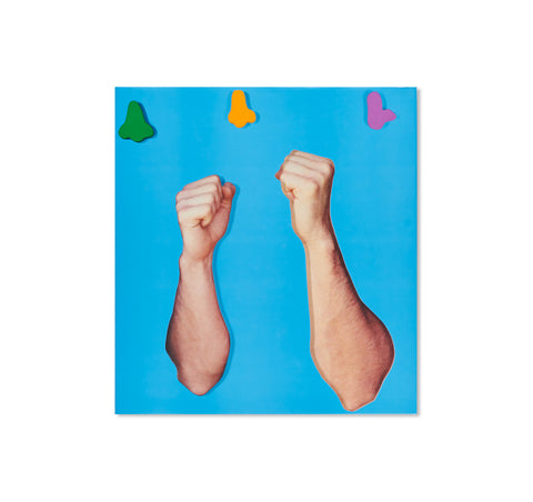 ARMS AND LEGS (SPECIF. ELBOWS & KNEES), ETC. by John Baldessari