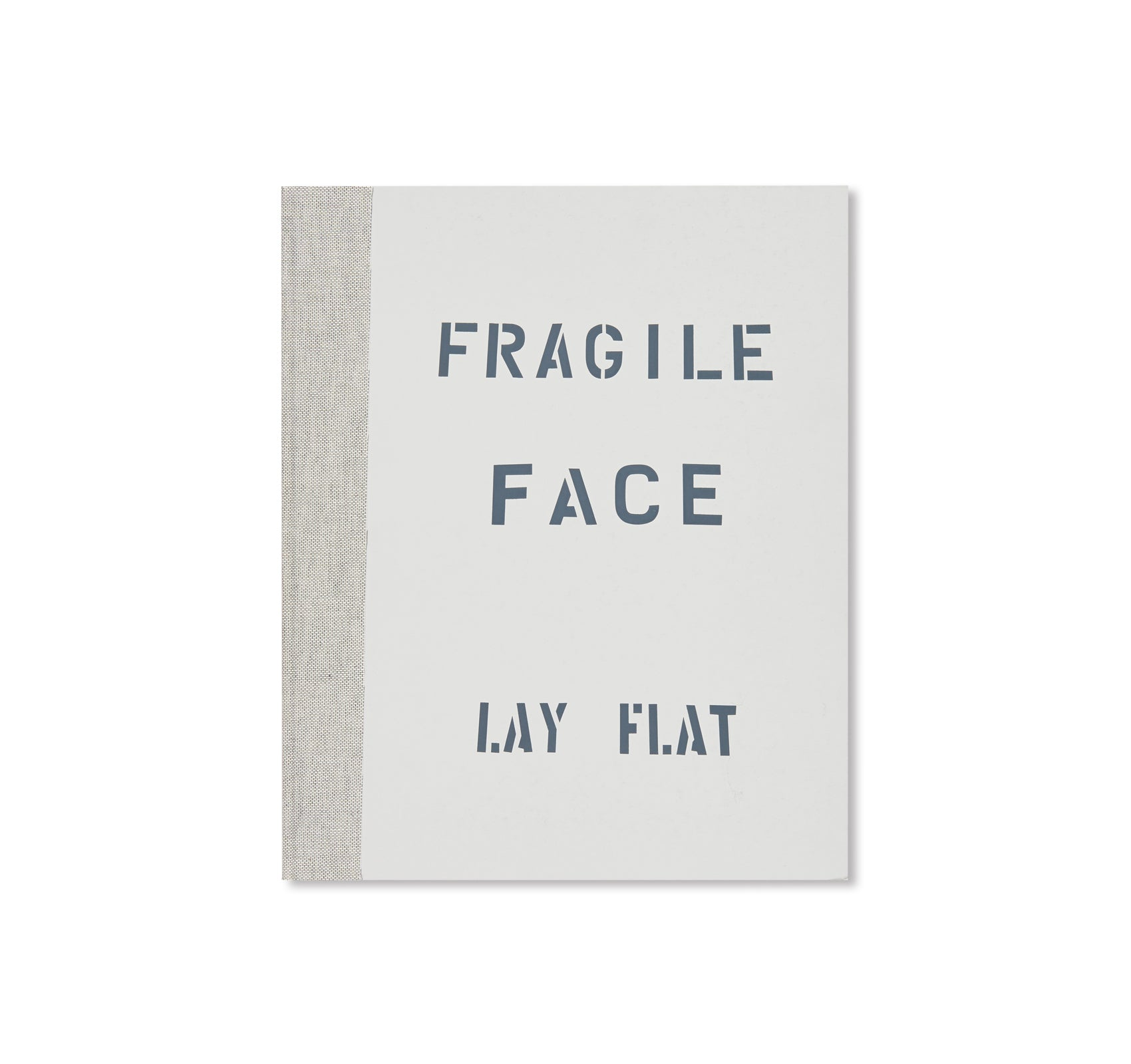 FRAGILE FACE LAY FLAT by Venetia Scott [SIGNED]