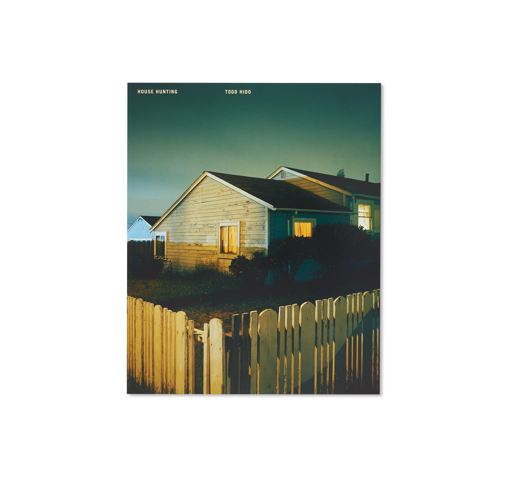 HOUSE HUNTING by Todd Hido [SPECIAL EDITION]