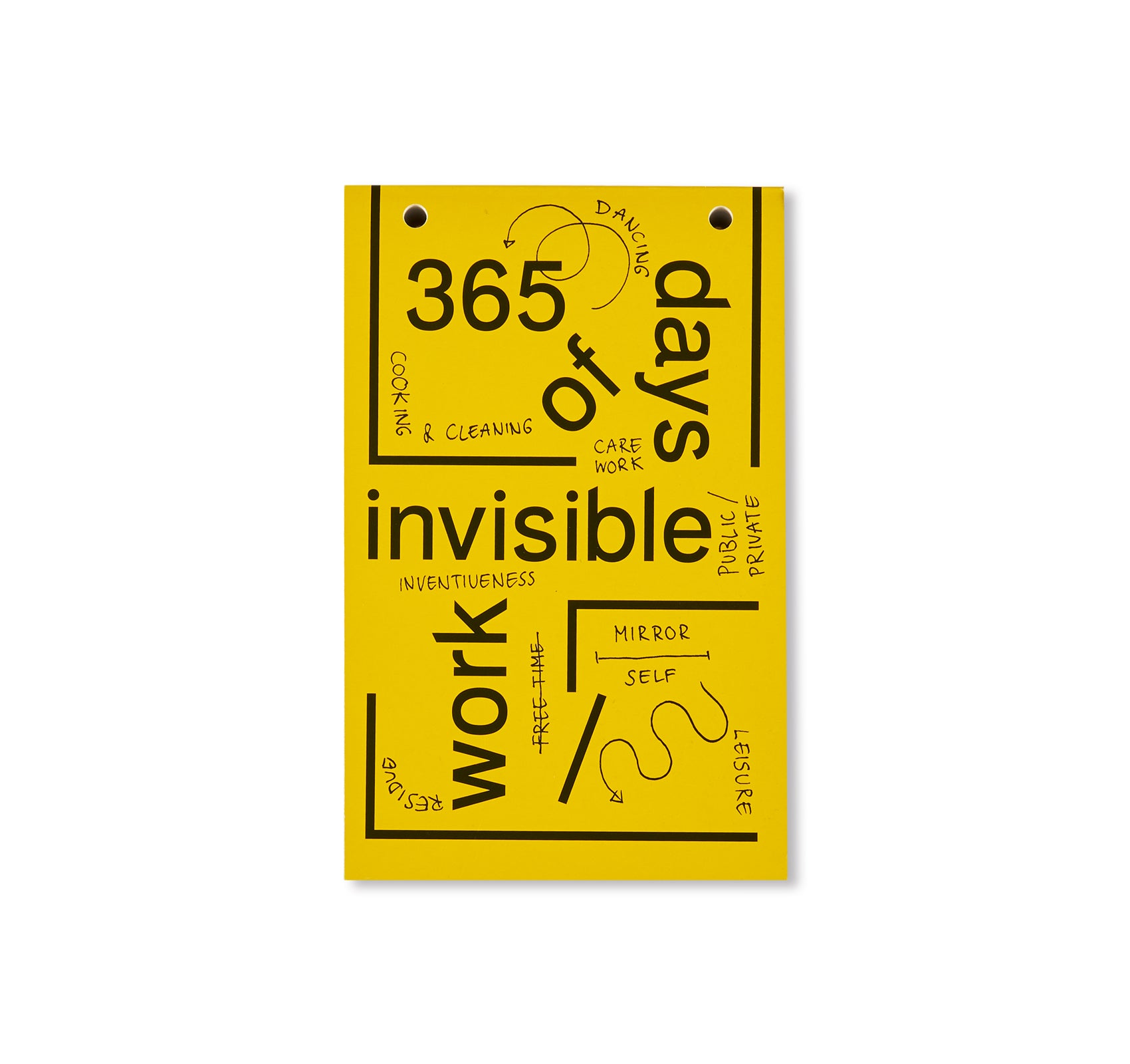 365 DAYS OF INVISIBLE WORK by Werker Collective, Marina Vishmidt, Lisa Jeschke