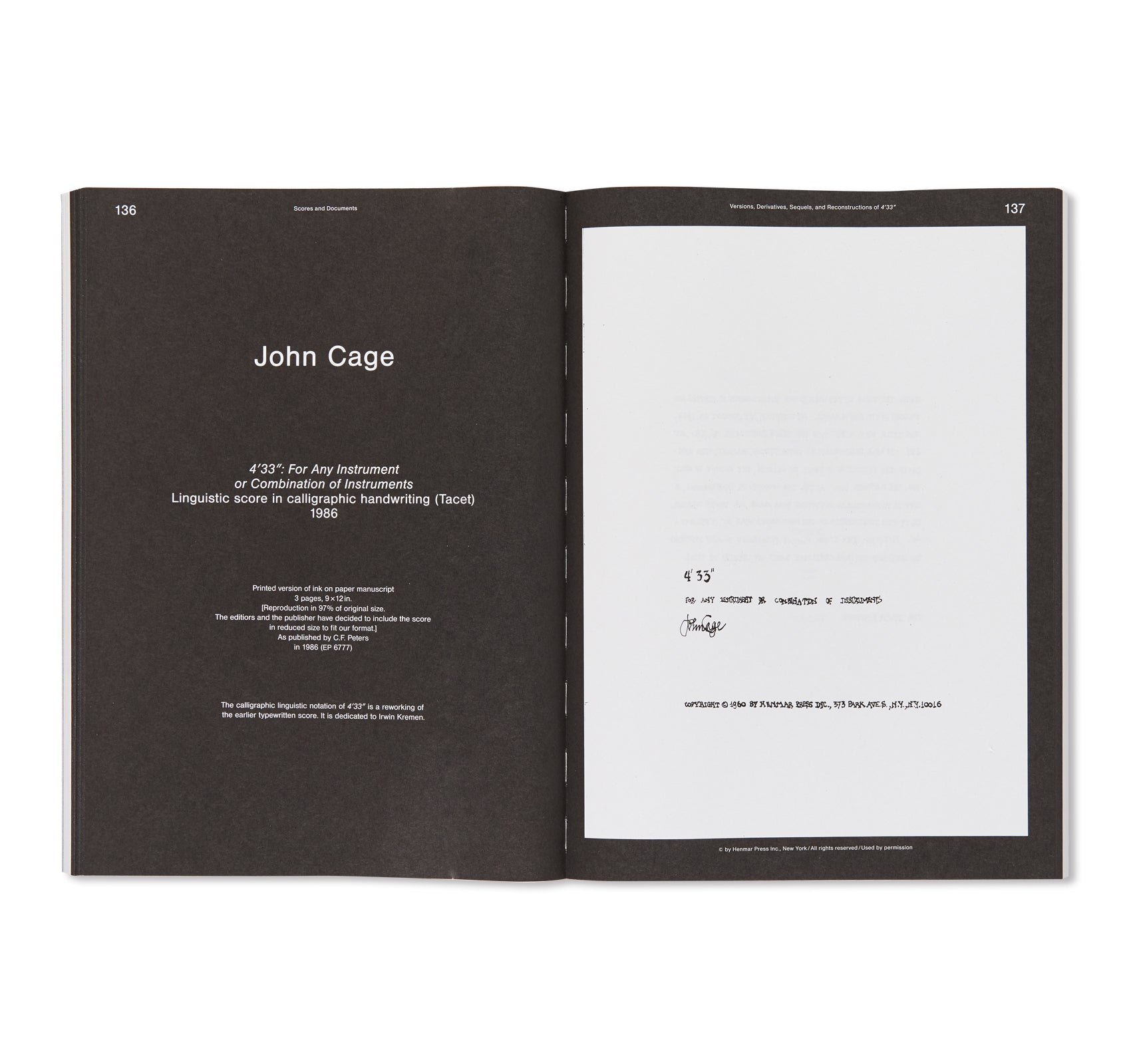"SOUNDS LIKE SILENCE - JOHN CAGE - 4'33"" – SILENCE TODAY by Inke Arns, Dieter Daniels"
