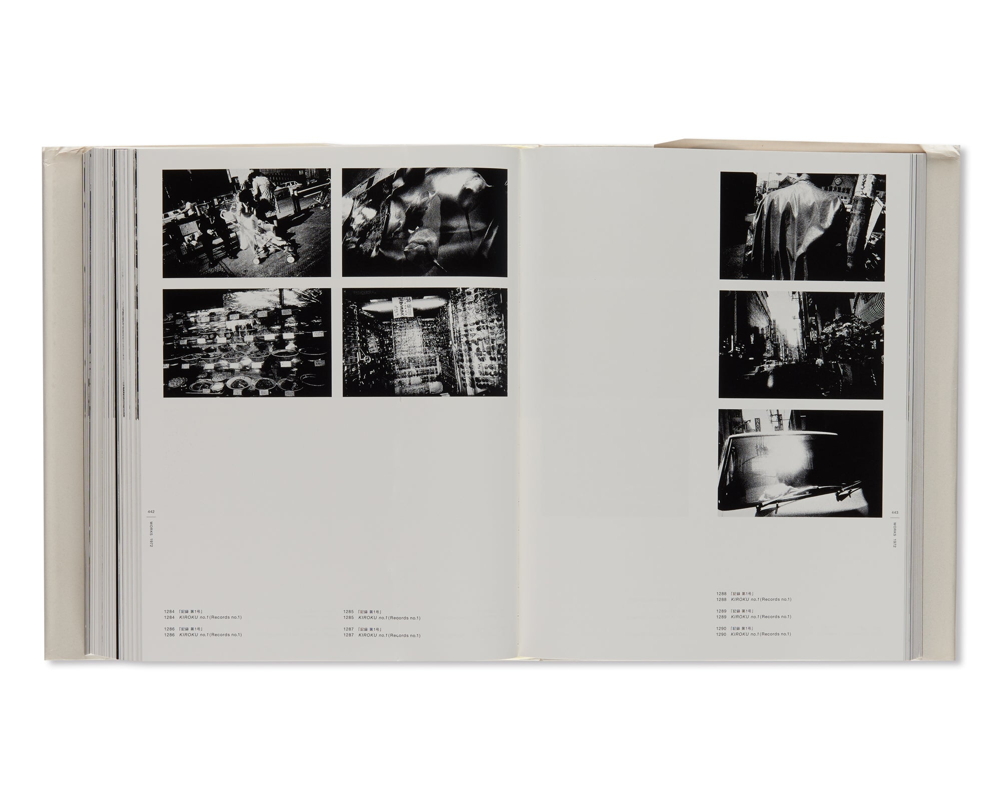 DAIDO MORIYAMA THE COMPLETE WORKS - A SET OF VOL. 1, 2, 3 AND 4 by Daido Moriyama