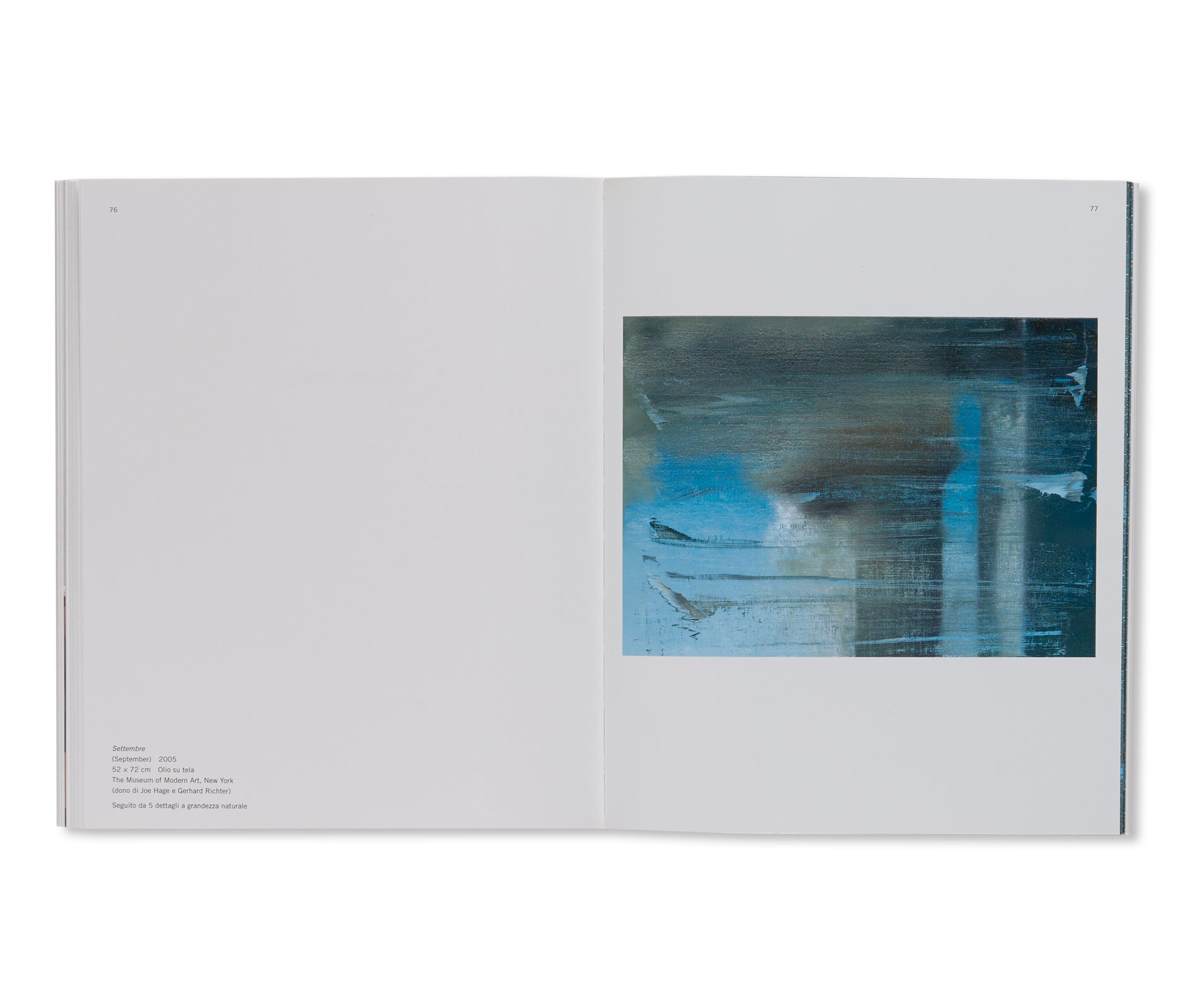 SETTEMBRE / SEPTIEMBRE by Gerhard Richter [ITALIAN EDITION]