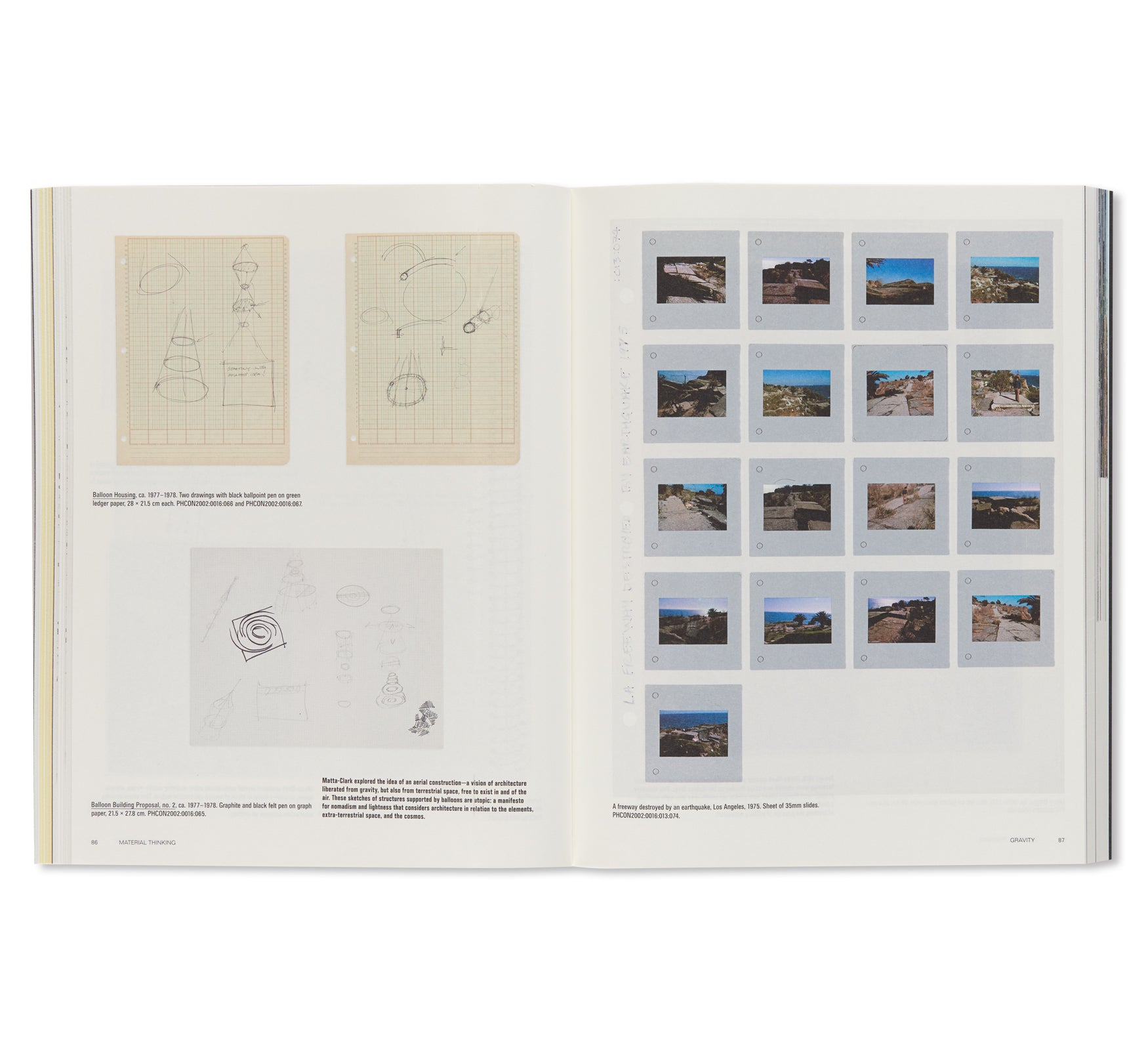 CP138 GORDON MATTA-CLARK: READINGS OF THE ARCHIVE by Gordon Matta-Clark