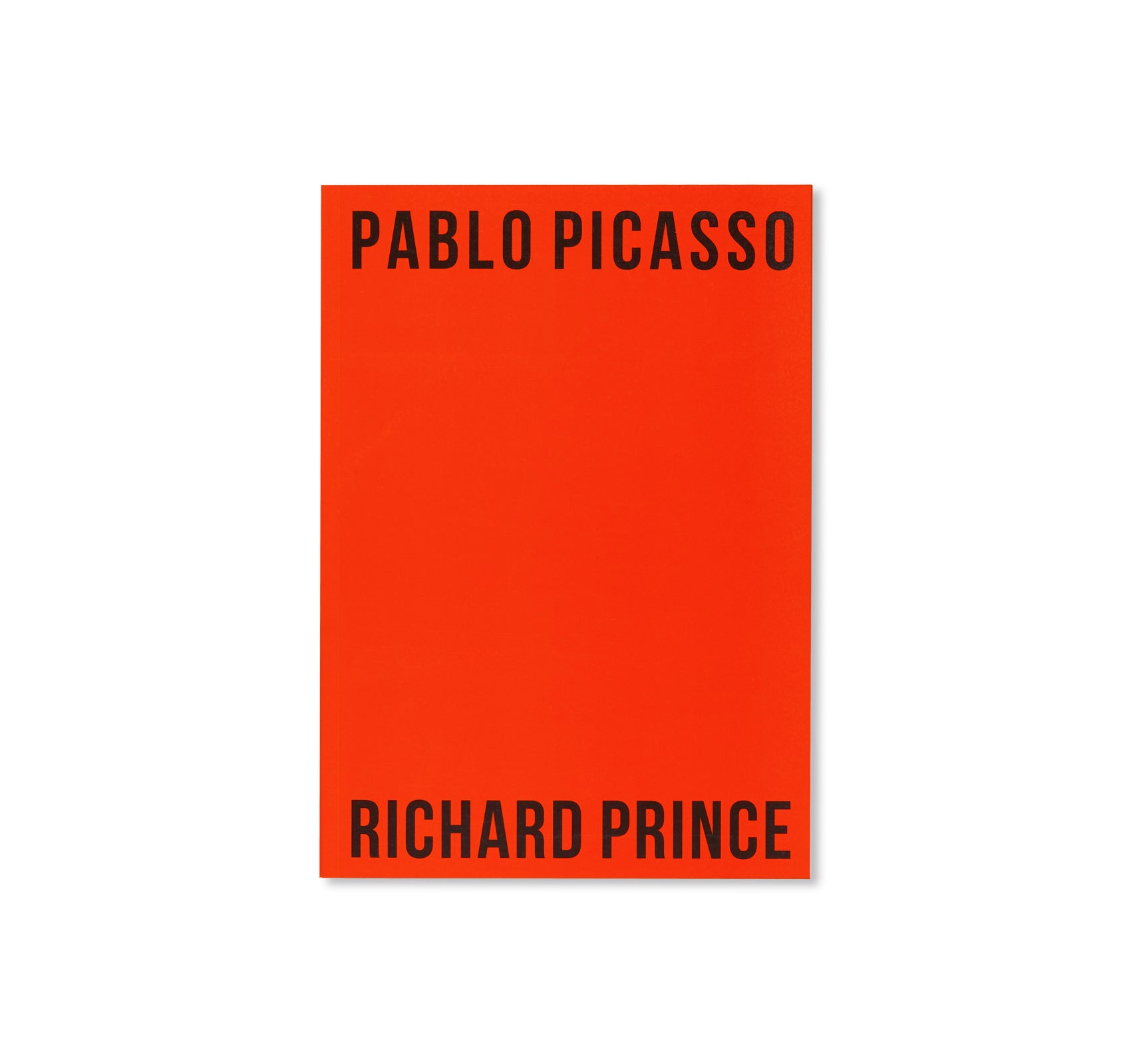 PABLO PICASSO RICHARD PRINCE by Richard Prince