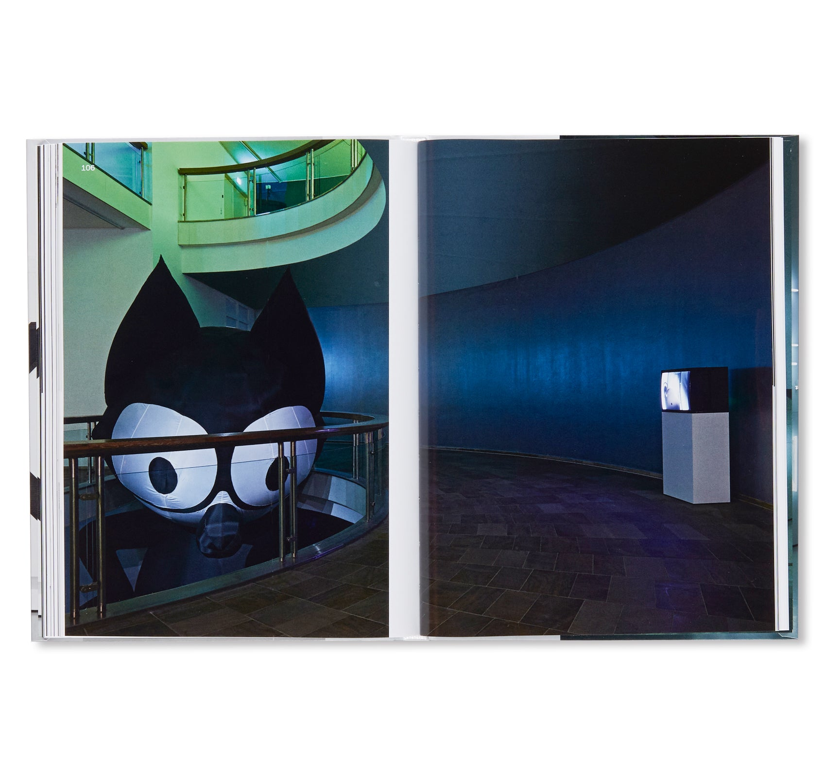 IMAGES - KASSEL, MUSEUM FRIDERICIANUM  by Pierre Huyghe, Wade Guyton, Seth Price, Mark Leckey, Philippe Parreno, Michel Majerus, Trisha Donnelly, Cory Arcangel, Sturtevant, Isa Genzken