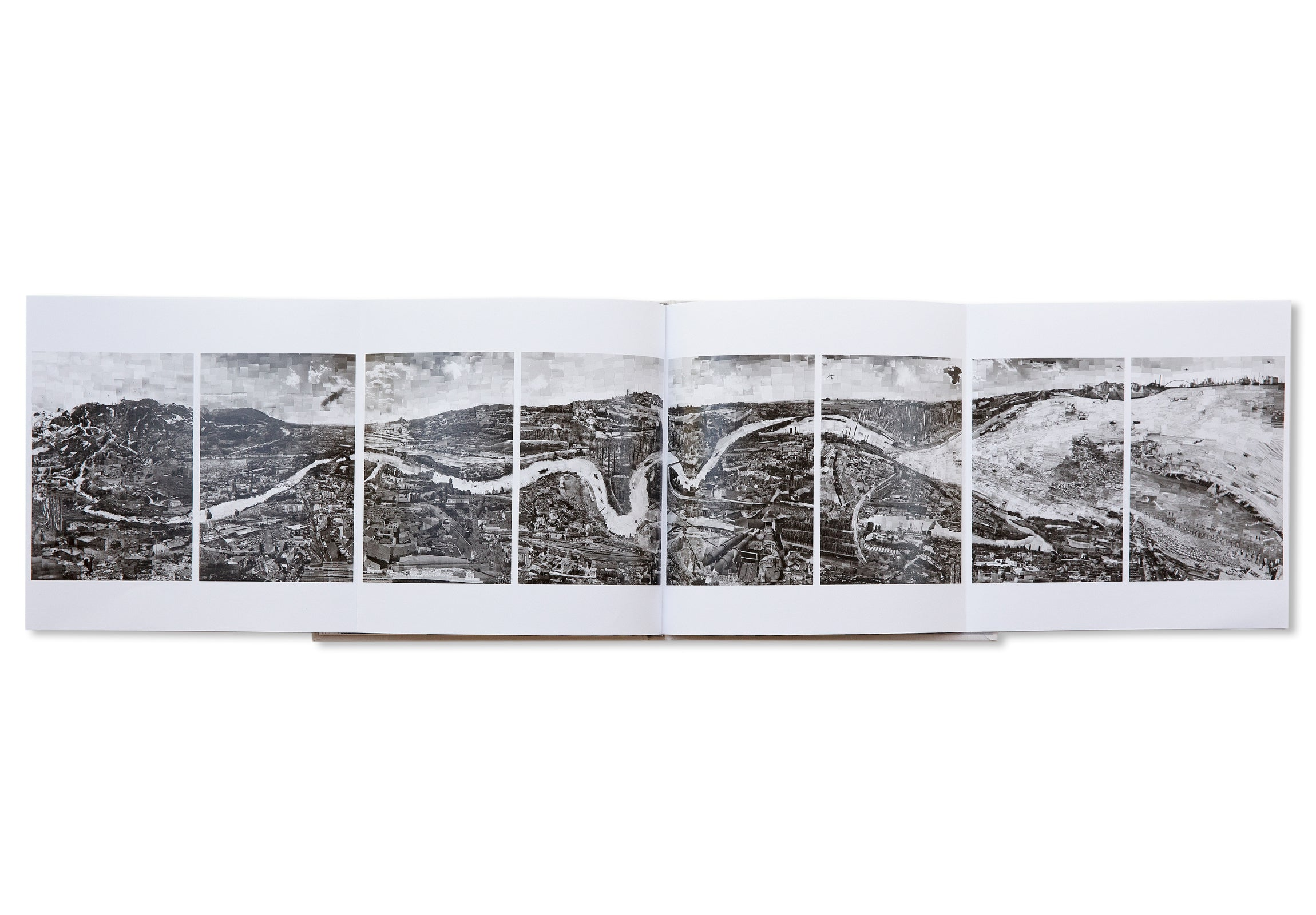 WATER LINE. A STORY OF THE PO RIVER by Sohei Nishino [SIGNED]