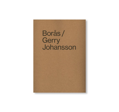 BORÅS by Gerry Johansson [SIGNED]