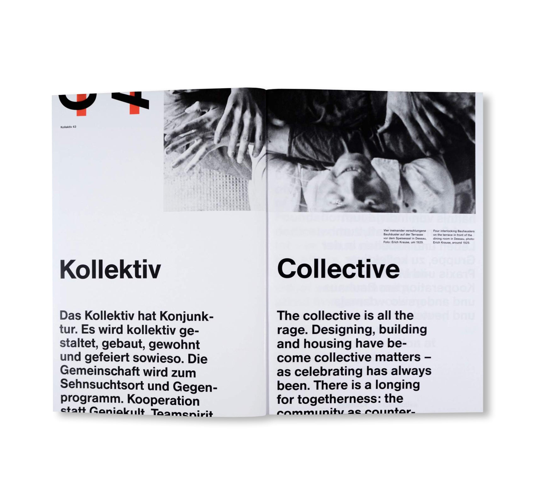 COLLECTIVE - BAUHAUS 7. The Bauhaus Dessau Foundation's Magazine by Stiftung Bauhaus Dessau