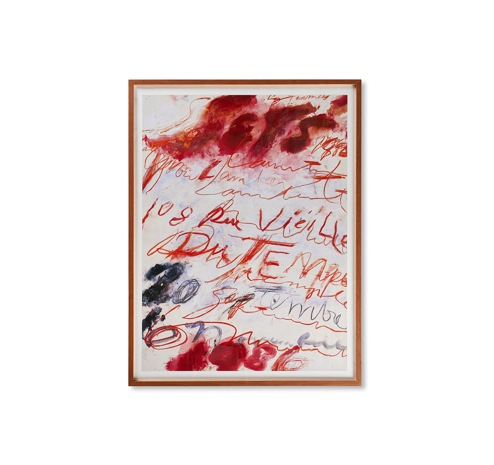 PRINT (1986) by Cy Twombly