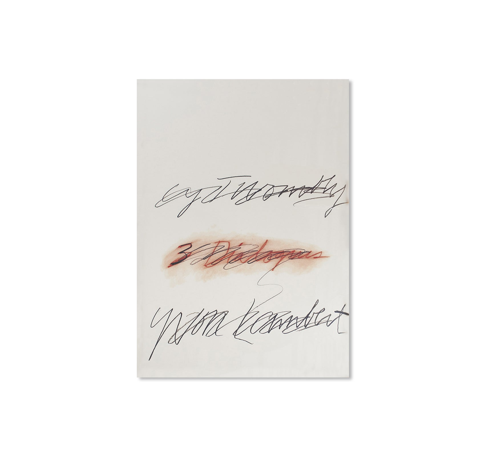 THREE DIALOGUES.2 PRINT (1977) by Cy Twombly