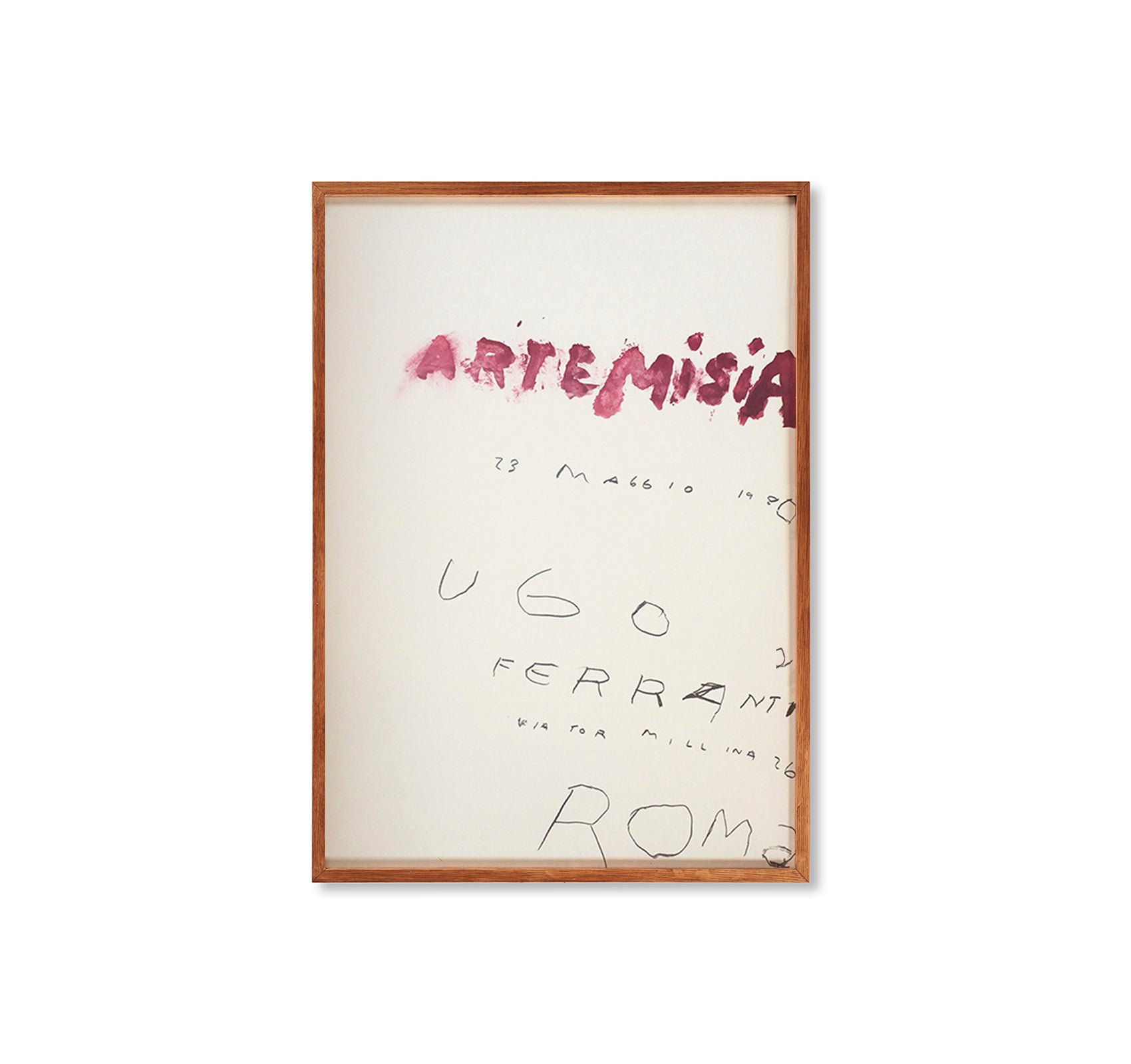 ARTEMISIA PRINT (1980) by Cy Twombly