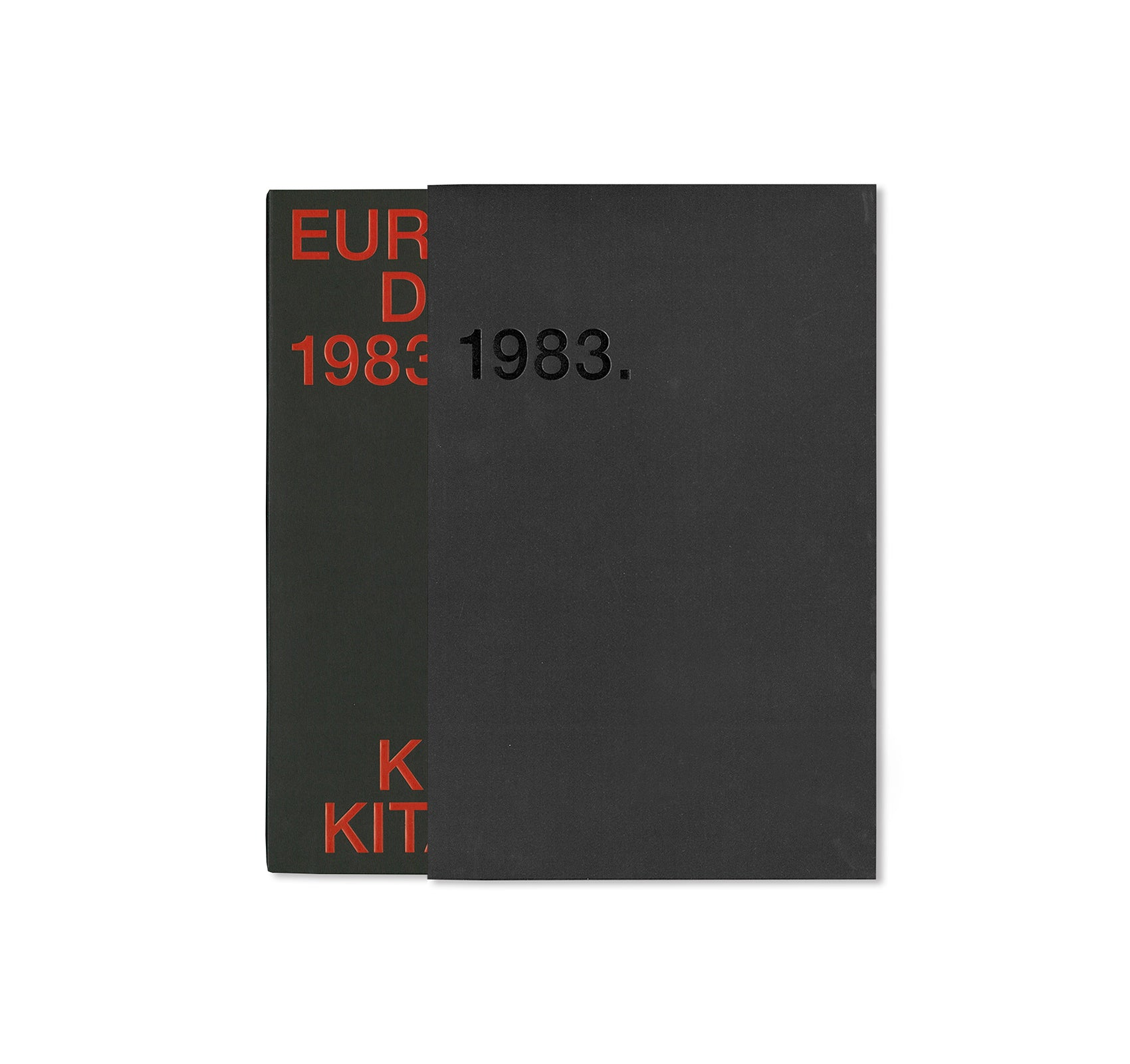 EUROPEAN DIARY 1983-1984 by Keizo Kitajima [SIGNED]