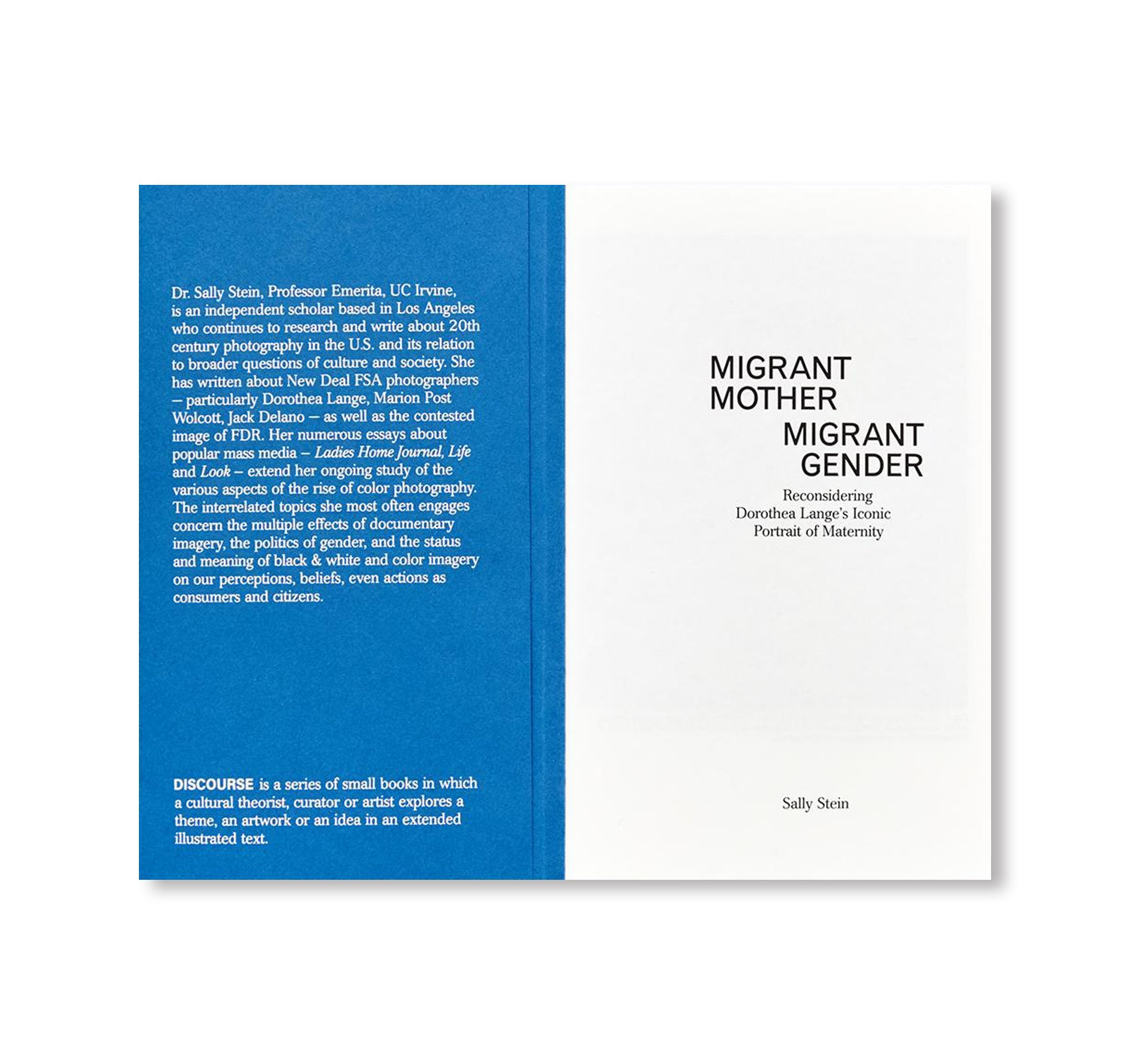 MIGRANT MOTHER, MIGRANT GENDER by Sally Stein