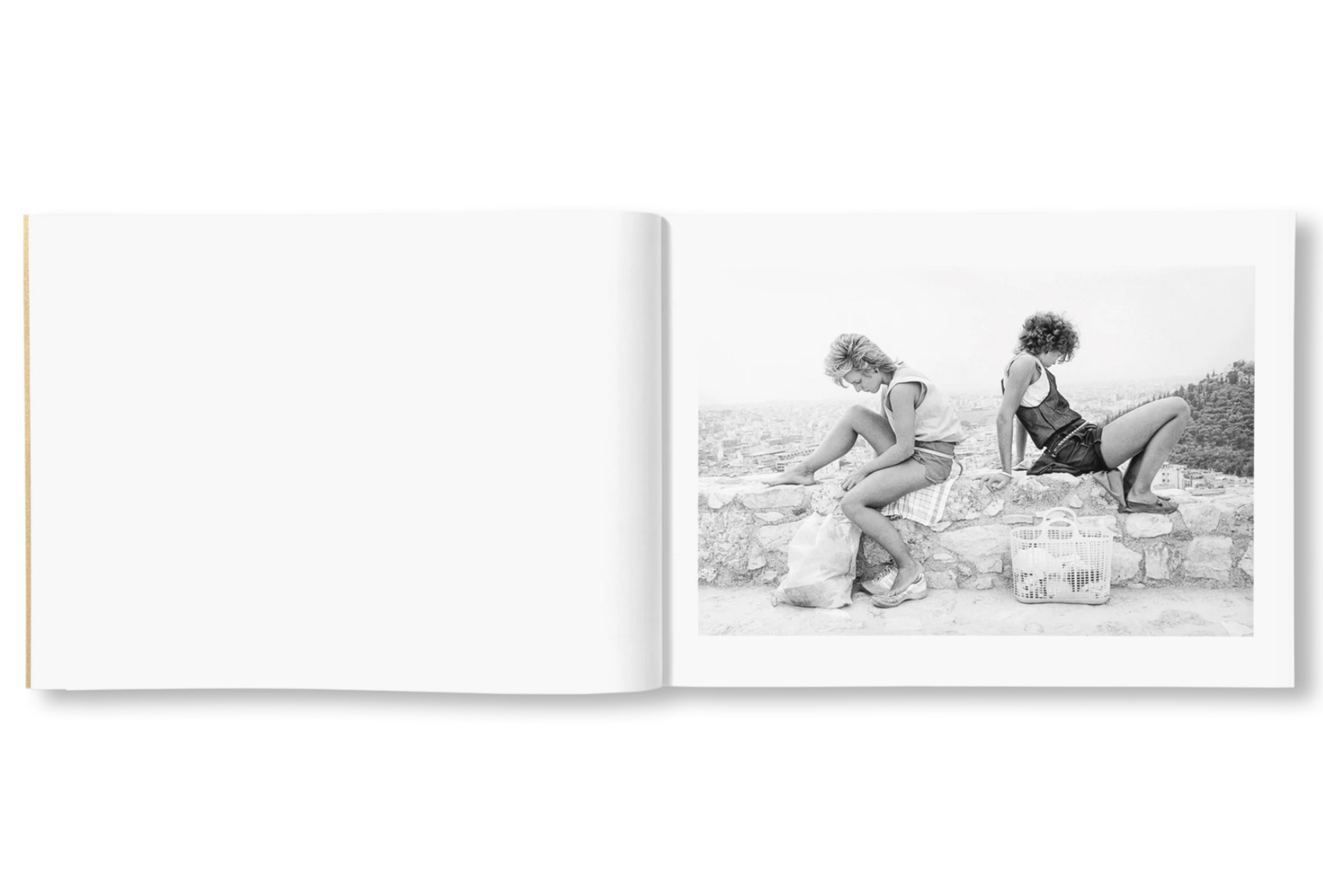 ON THE ACROPOLIS by Tod Papageorge [SIGNED]