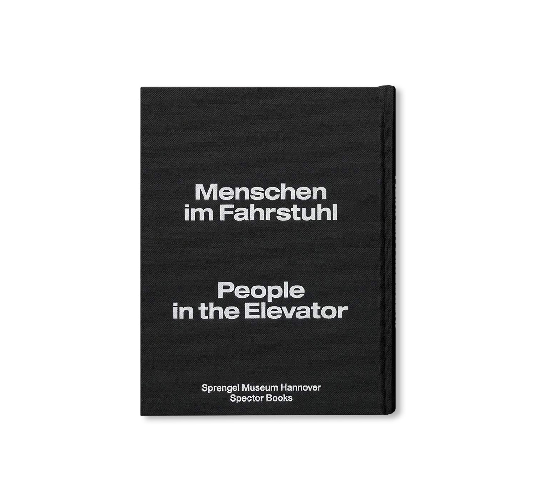 PEOPLE IN THE ELEVATOR by Heinrich Riebesehl
