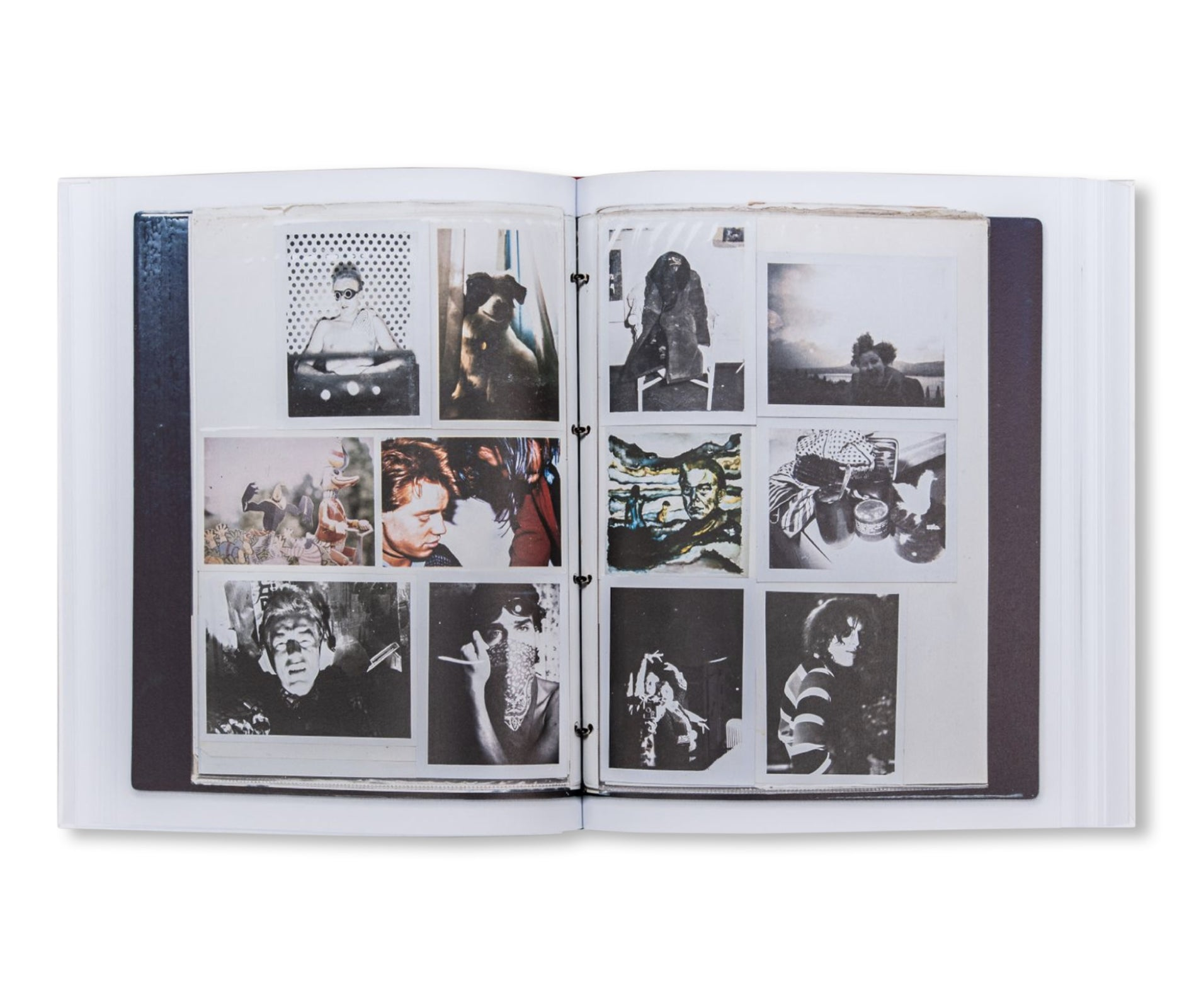 SCRAPBOOKS 1969-1985 by Walter Pfeiffer