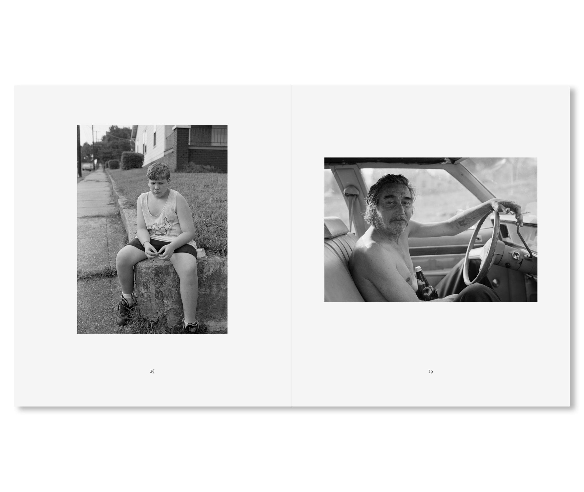 SOUTH CENTRAL by Mark Steinmetz