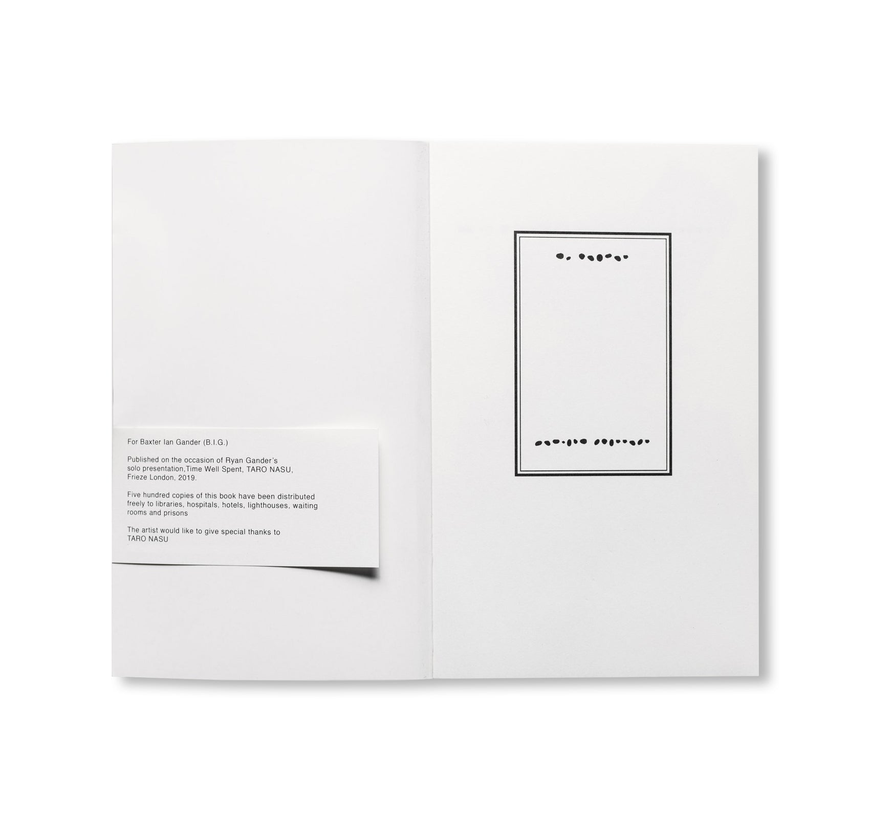 STABS AT ACADEMIA WITH PAINTERS TOOLS by Ryan Gander