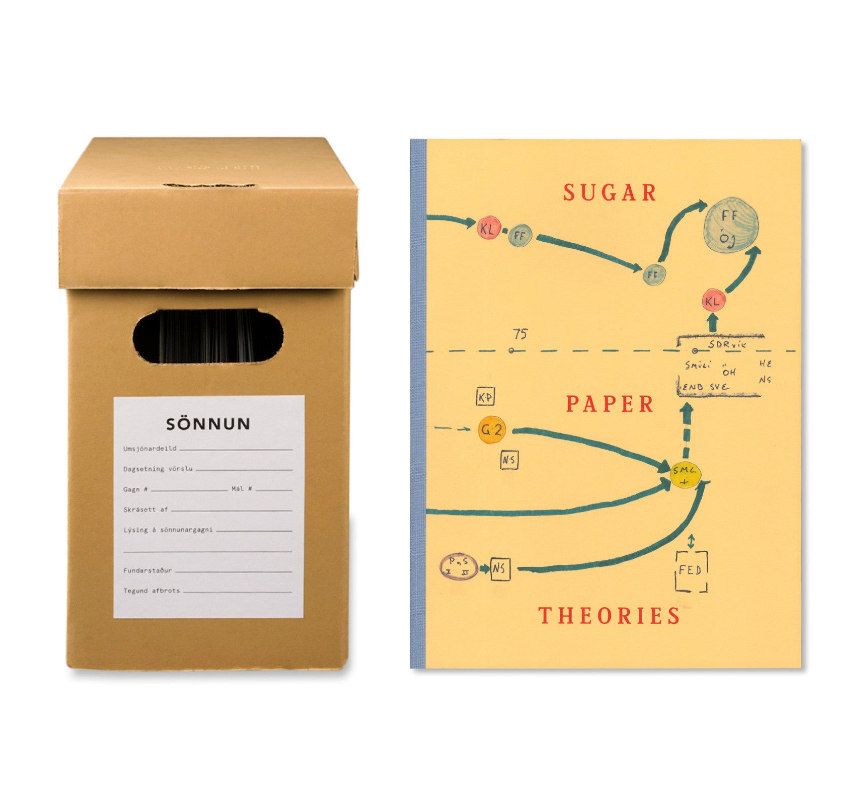 SUGAR PAPER THEORIES by Jack Latham [SPECIAL EDITION / SIGNED]