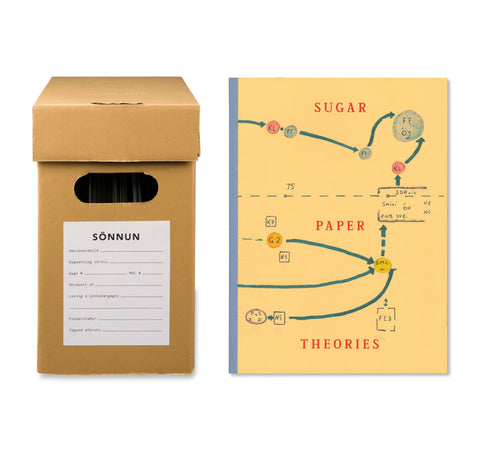 SUGAR PAPER THEORIES by Jack Latham [SPECIAL EDITION / SIGNED / DAMAGED]