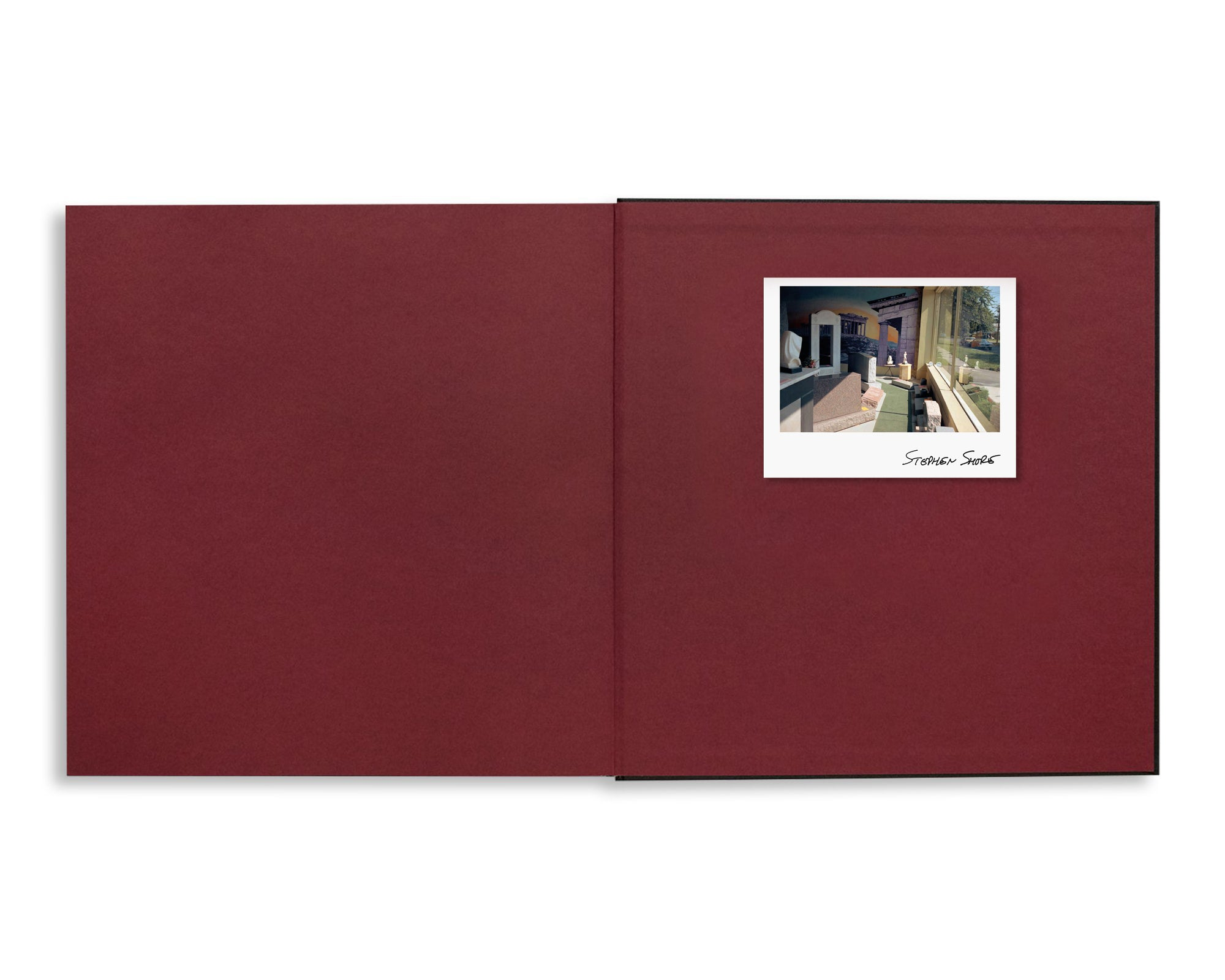 TRANSPARENCIES: SMALL CAMERA WORKS 1971-1979 by Stephen Shore [SIGNED]