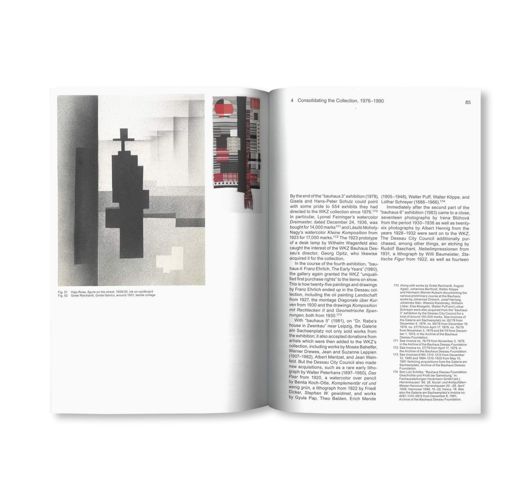 THE PROGRESSIVE HERITAGE OF THE BAUHAUS - ON THE ORIGINS OF AN EAST GERMAN BAUHAUS COLLECTION / Edition Bauhaus 54 by Stiftung Bauhaus Dessau