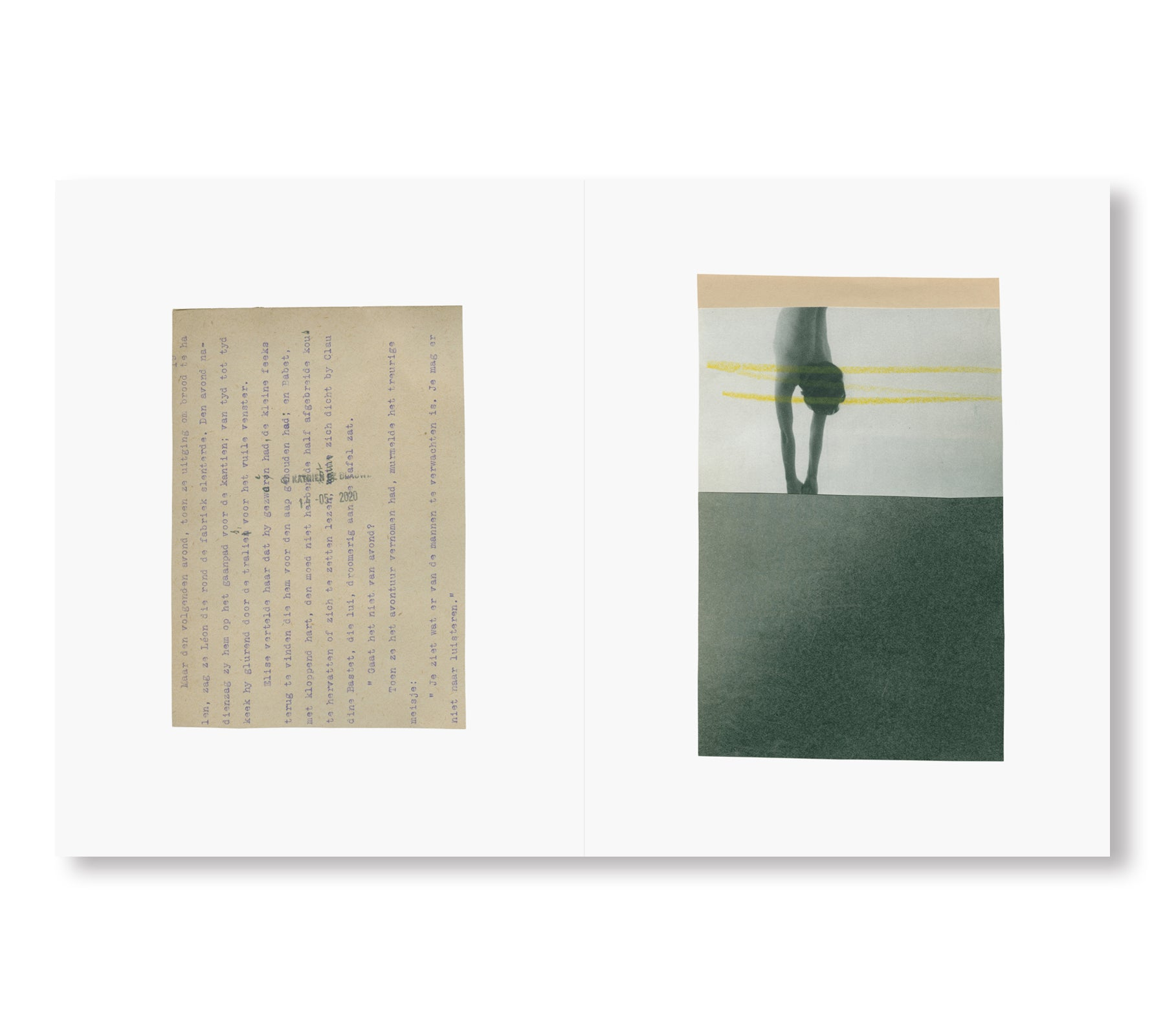 YOU COULD AT LEAST PRETEND TO LIKE YELLOW  by Katrien De Blauwer