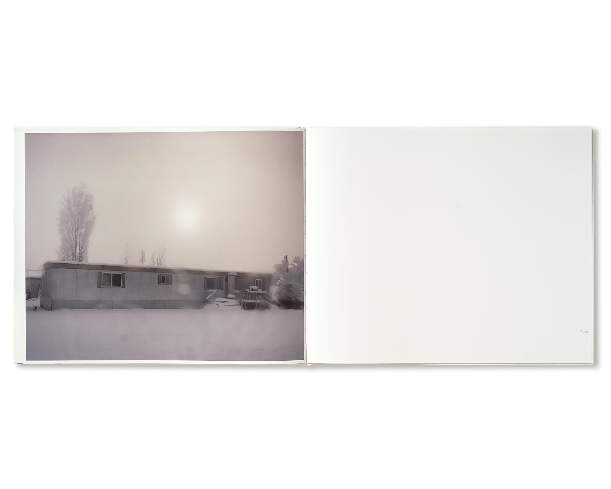 A ROAD DIVIDED by Todd Hido [SIGNED]