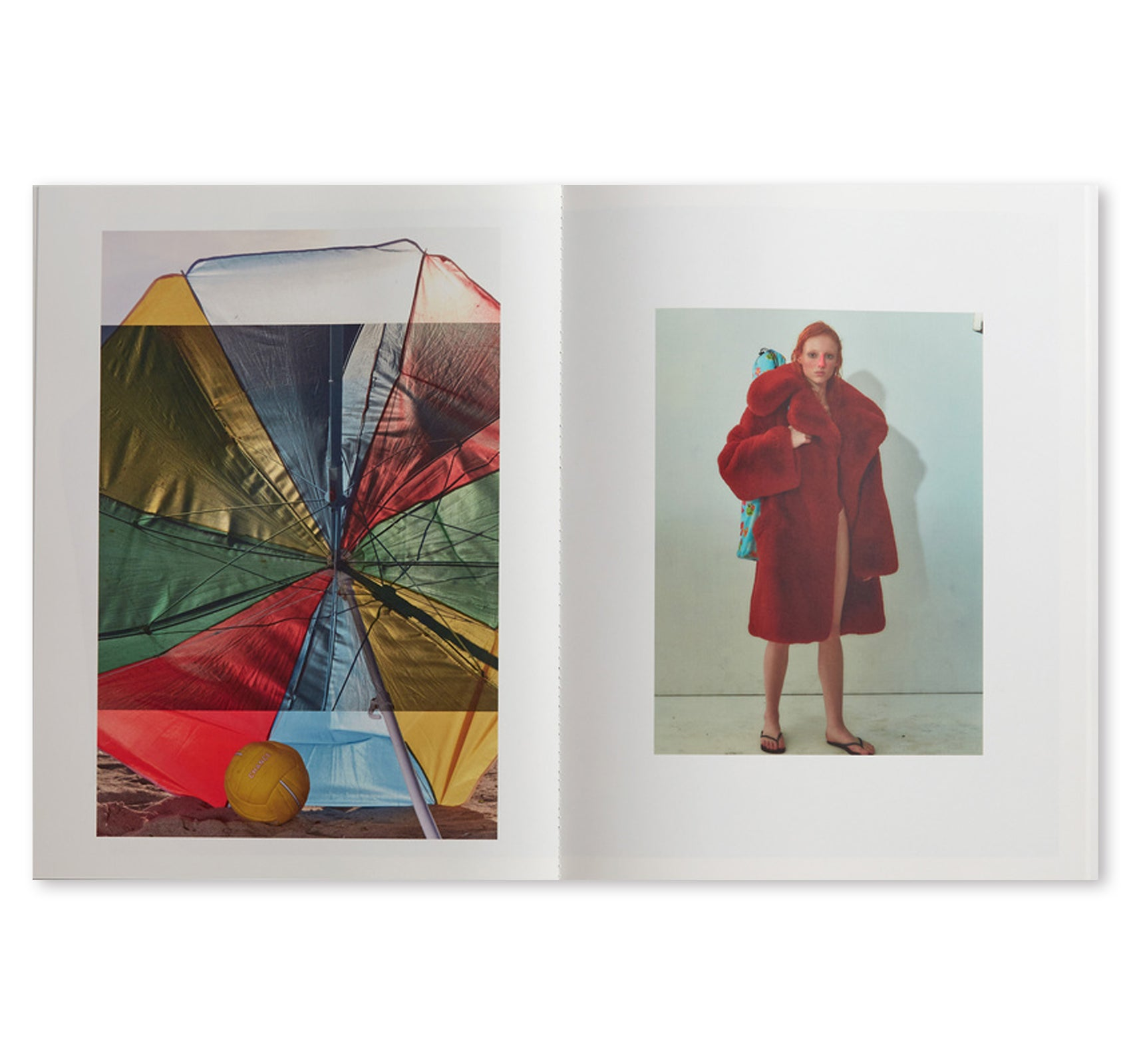 BEACH UMBRELLA by Roe Ethridge [SIGNED]