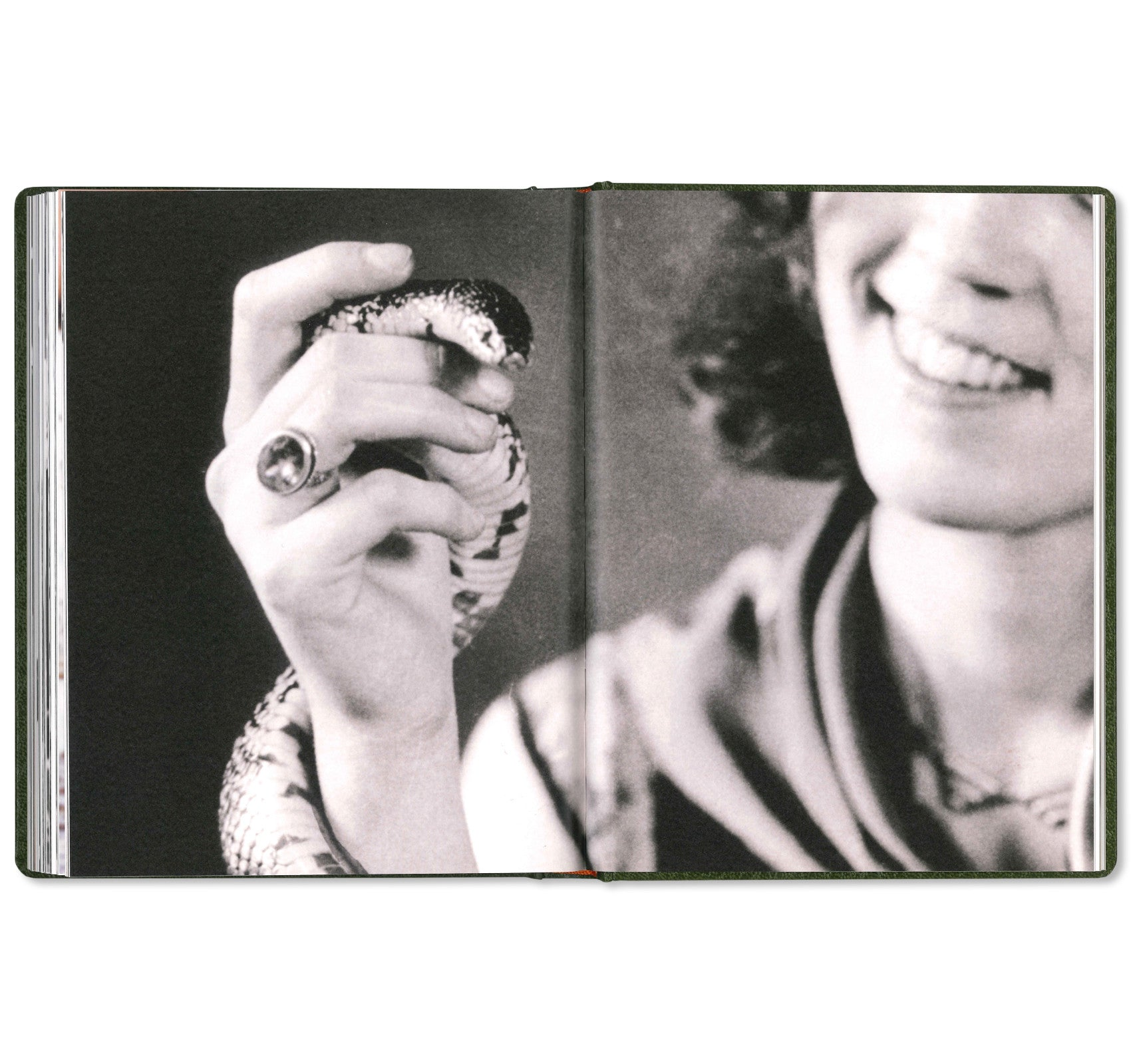 GIRL PLAYS WITH SNAKE by Clare Strand