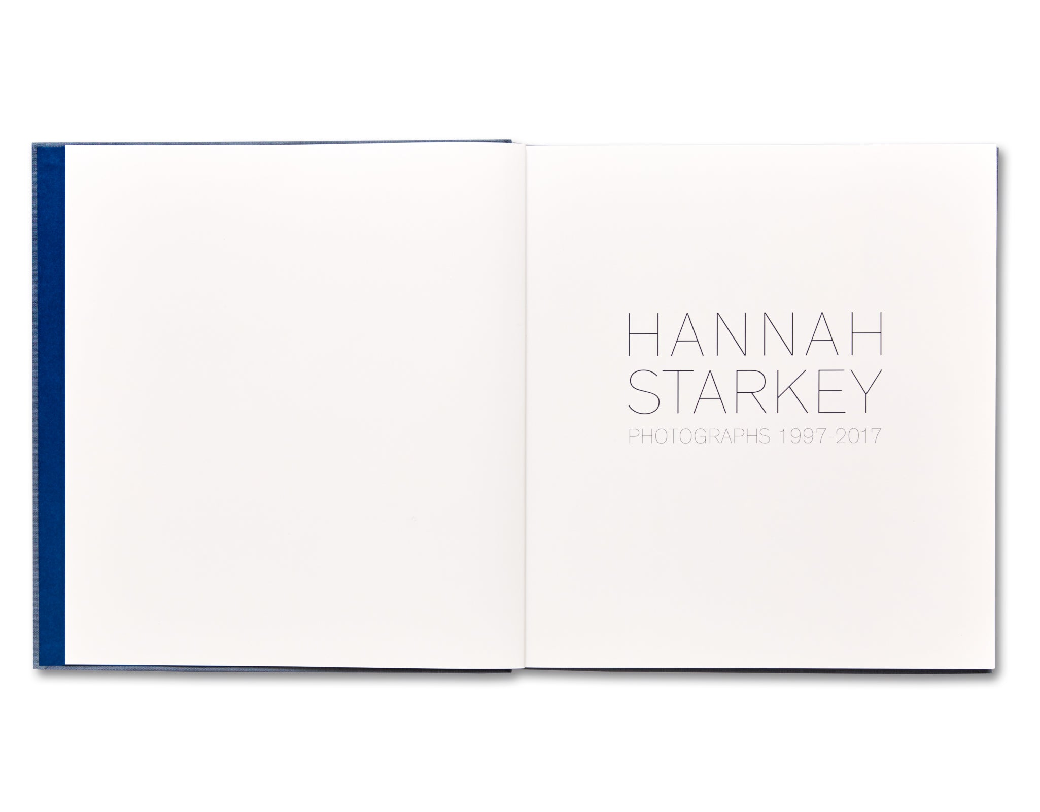 PHOTOGRAPHS 1997 – 2017 by Hannah Starkey