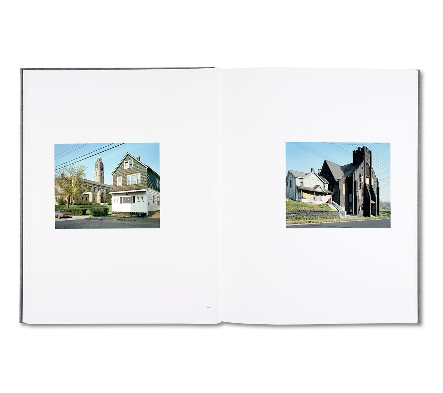 STEEL TOWN by Stephen Shore [SIGNED]