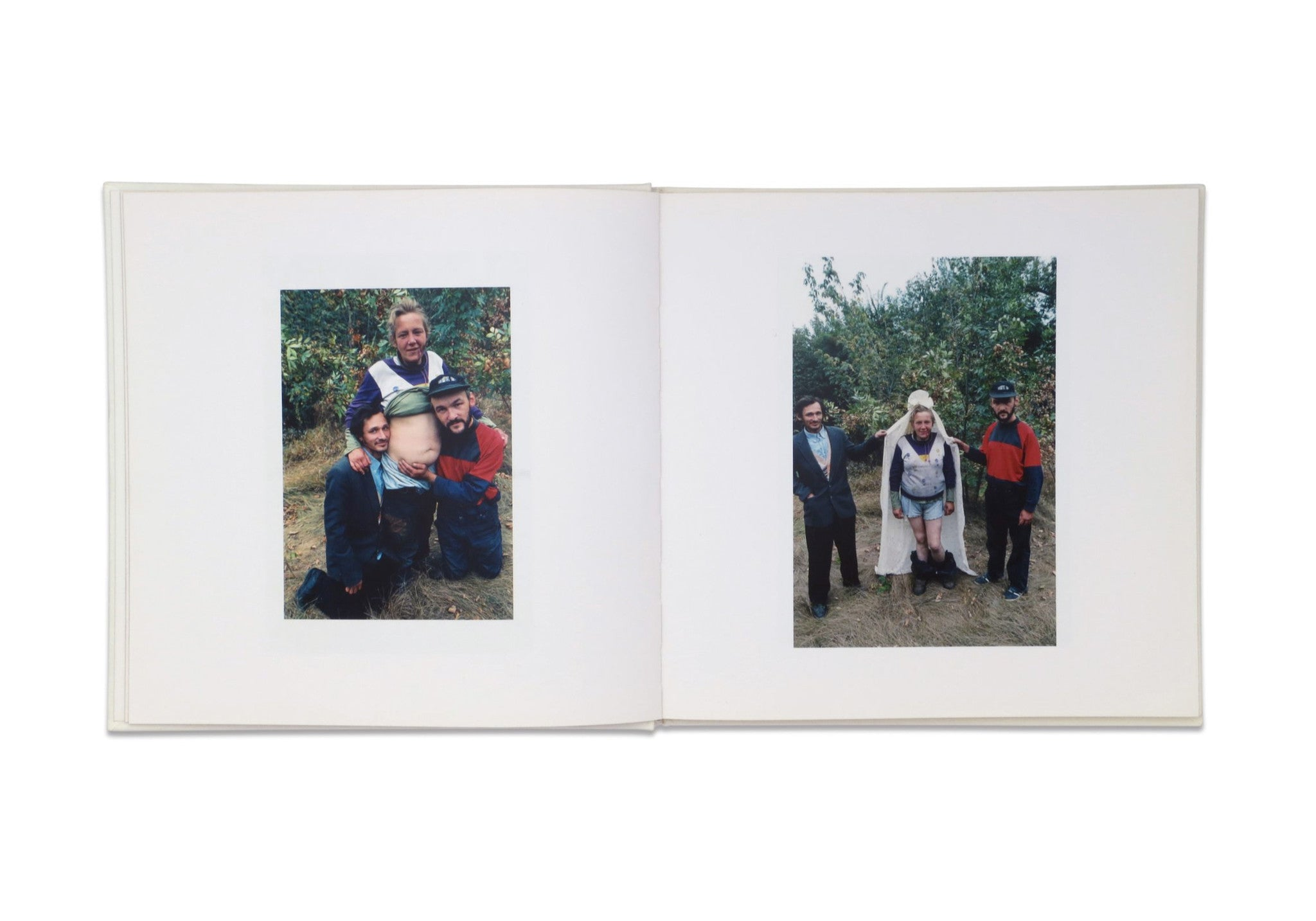 THE WEDDING by Boris Mikhailov