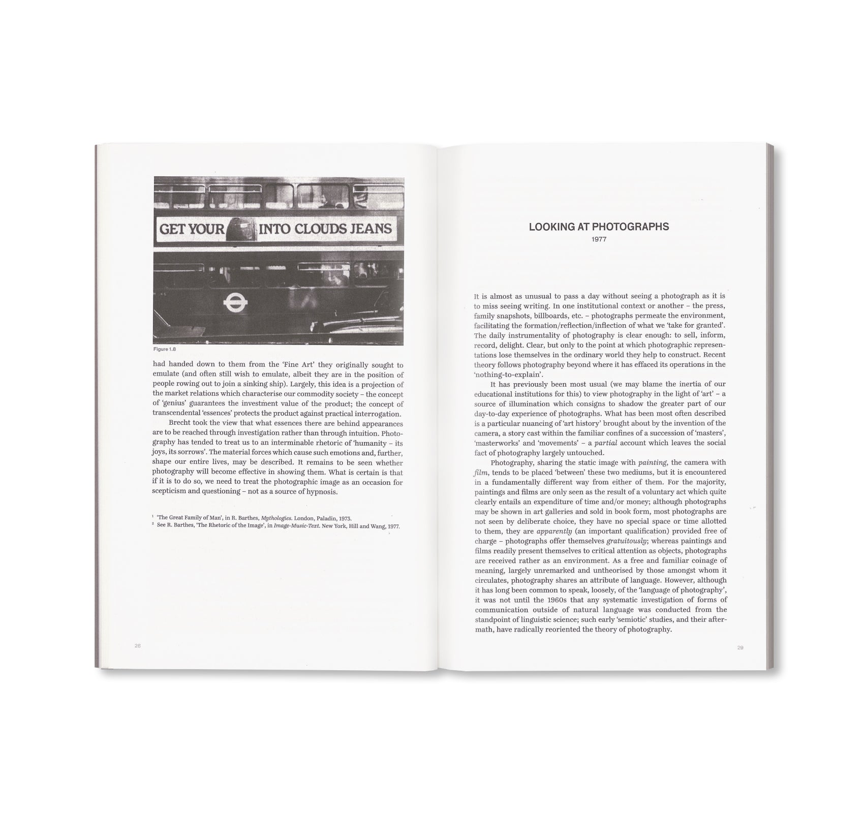 THE CAMERA: ESSENCE AND APPARATUS by Victor Burgin