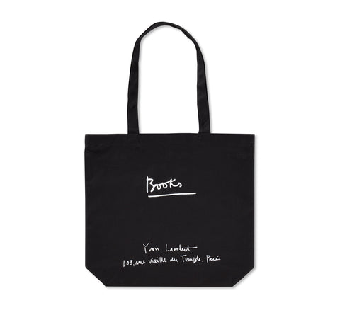 YVON LAMBERT TOTE BAG (REGULAR / BLACK)