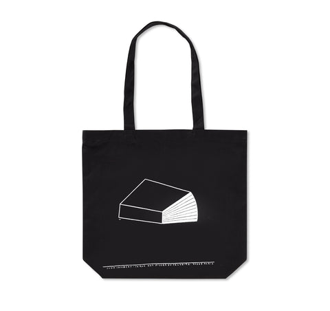 YVON LAMBERT & PHILIPPE WEISBECKER TOTE BAG (BLACK)