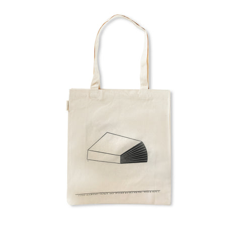 YVON LAMBERT & PHILIPPE WEISBECKER TOTE BAG (WHITE)
