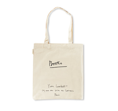 YVON LAMBERT TOTE BAG (REGULAR / WHITE)