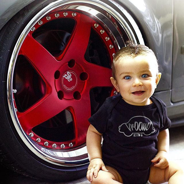 Vroom Kids - Onesie or Tshirt-  Mini Car Enthusiasts - Hypestance