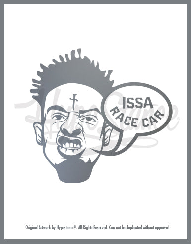 21 Savage Sticker - Hypestance, Car sticker