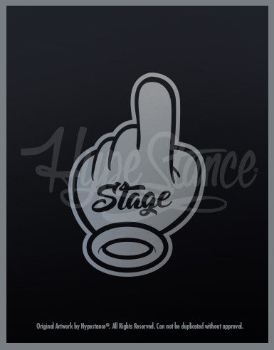 Stage 1 Sticker - Hypestance, Car sticker