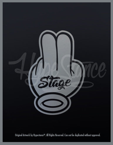 Stage 2 Sticker - Hypestance, Car sticker