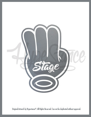 Stage 3 Sticker - Hypestance, Car sticker