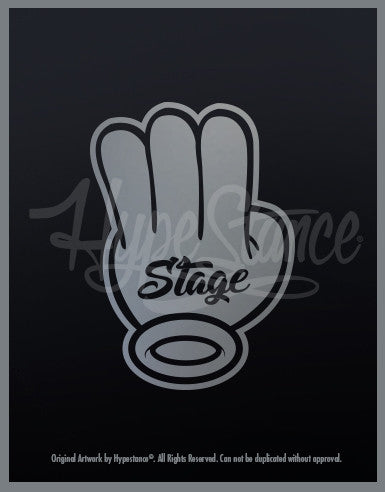 Stage 3 Sticker - Hypestance