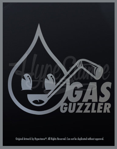 Gas Guzzler  Sticker - Hypestance